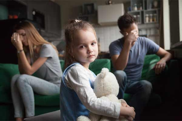 If you are getting a divorce and have children this process is much more difficult.